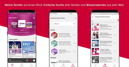 Datenverbrauch Radio App